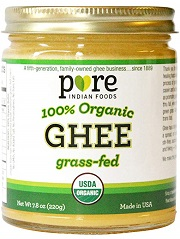 Grassfed Organic Ghee - Pure Indian Foods